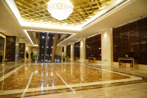 Sanitation lighting technology for hotels