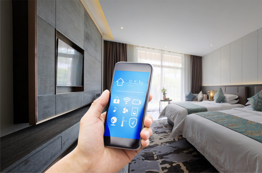 contactless technology hotel room 4