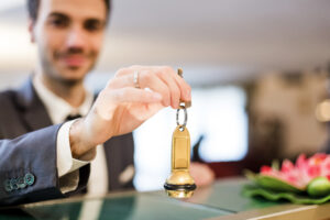 Hotels give back