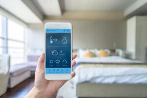 Smart hotel room controls