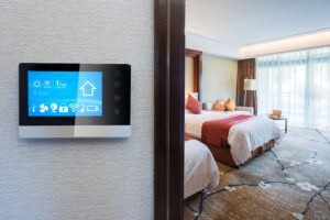 Smart hotel room controls 1